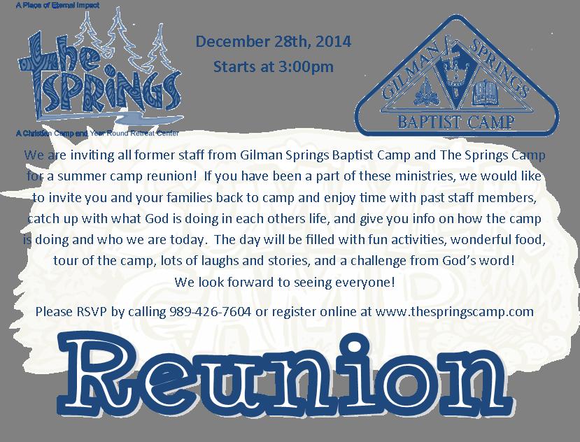 2014 Reunion