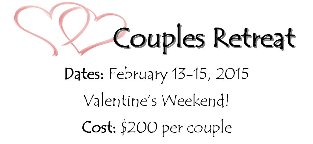 Couples Retreat 2015