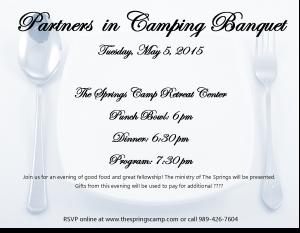 2015 PIC Banquet May 5th