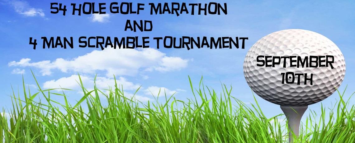 2016 Golf Marathon and 4 Man Scramble