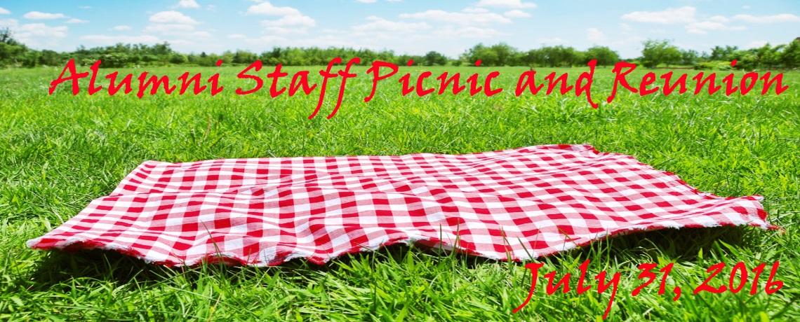 2016 Alumni Staff Picnic and Reunion
