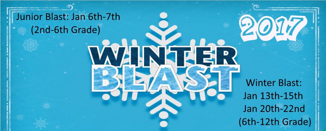 2017 Junior Blast and Winter Blast