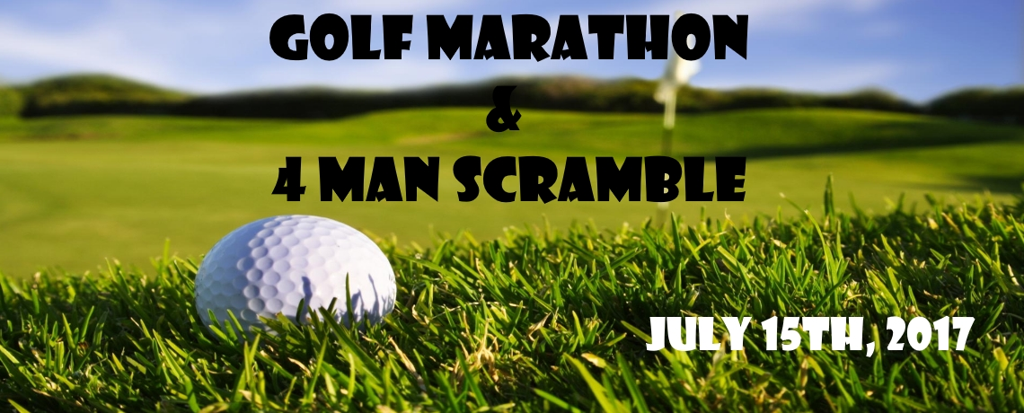 2017 Golf Marathon and 4 Man Scramble