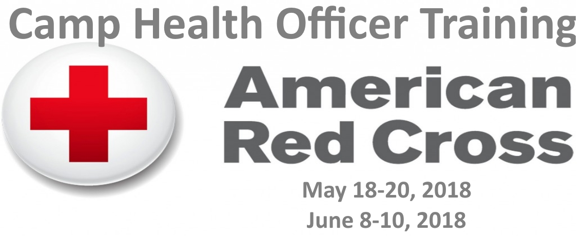 2018 American Red Cross Camp Health Officer Training
