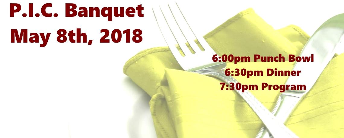 2018 P.I.C. Banquet