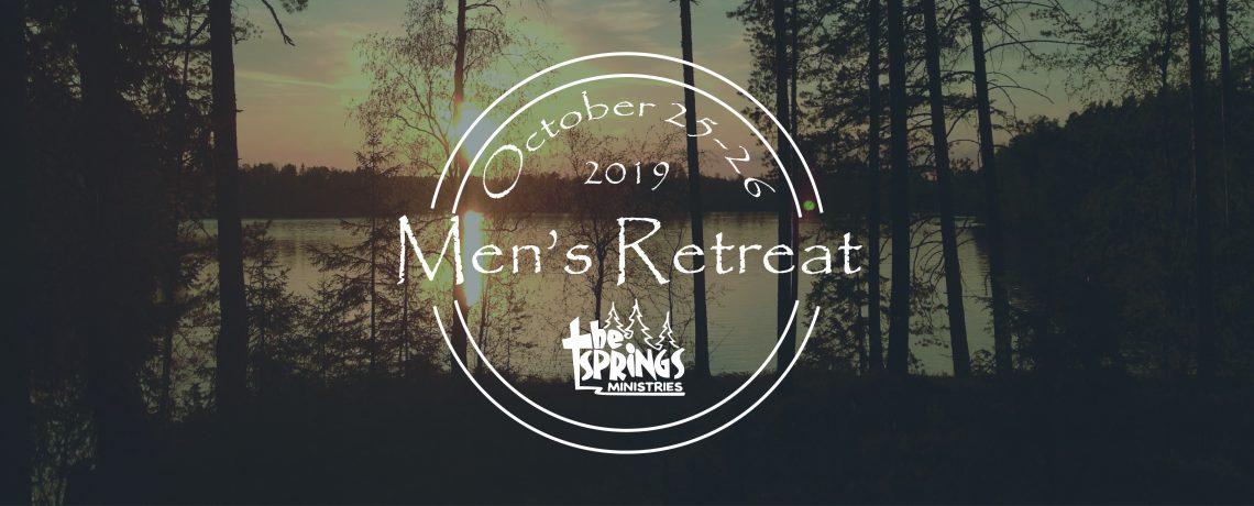 2019 Fall Men's Retreat