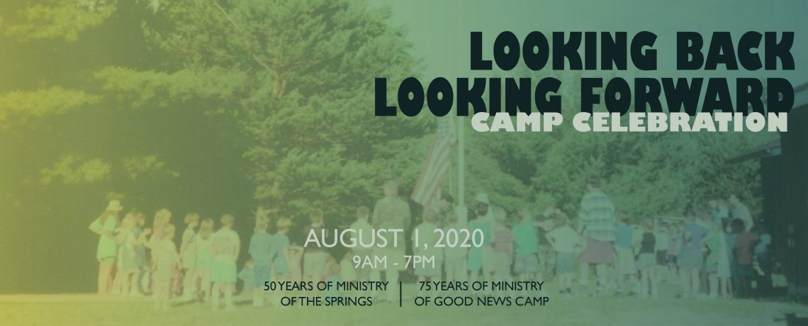 2020 Camp Anniversary Celebration